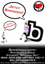 Blogsport Spenden Flyer