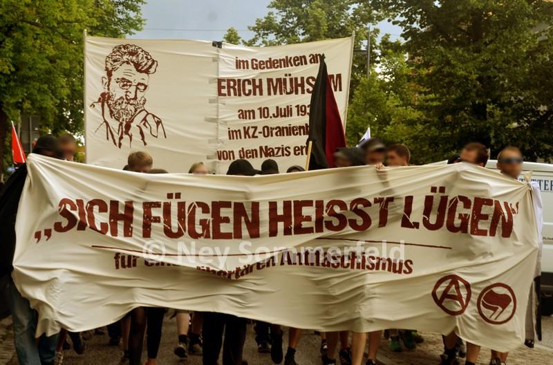 Erich Mühsam-Demo