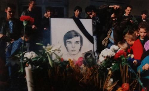 Mai 1992: Gedenken an Nguyễn Van Tu