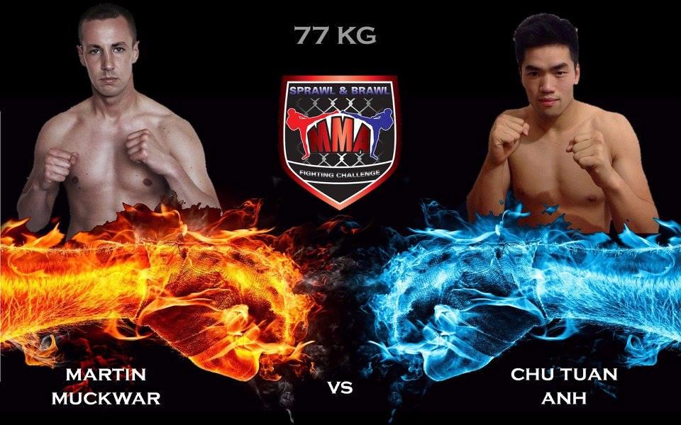 Martin Muckwar vs. Chu Tuan Anh, »Sprawl & Brawl«-FightCard für den 05. Mai 2015