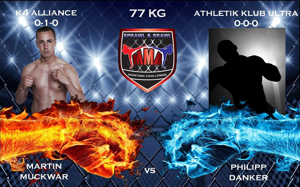Martin Muckwar vs. Philip Danker (vom »Athletik Klub Ultra«), »Sprawl & Brawl«-FightCard für den 31. Oktober 2015