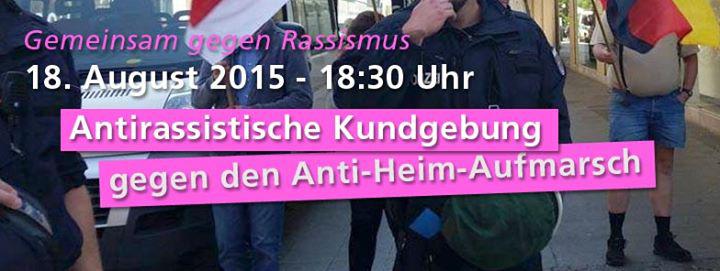 18.08. - 18.30 Uhr - Alle nach Hohenschönhausen!